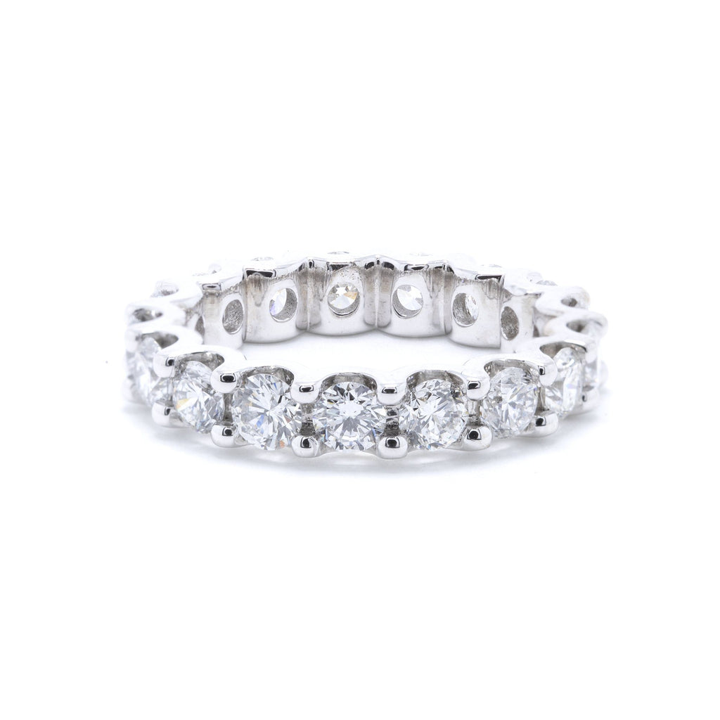 Diamond Eternity Wedding Band Ring Rings Miscellaneous