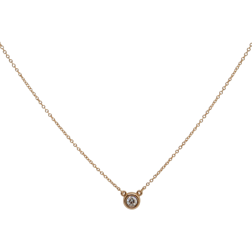 Tiffany & Co. Elsa Peretti Diamonds By The Yard Pendant Necklace - Necklaces