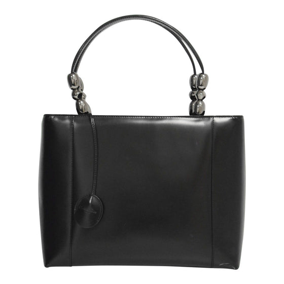 Dior Black Chrome Beaded Malice Tote Bags Dior