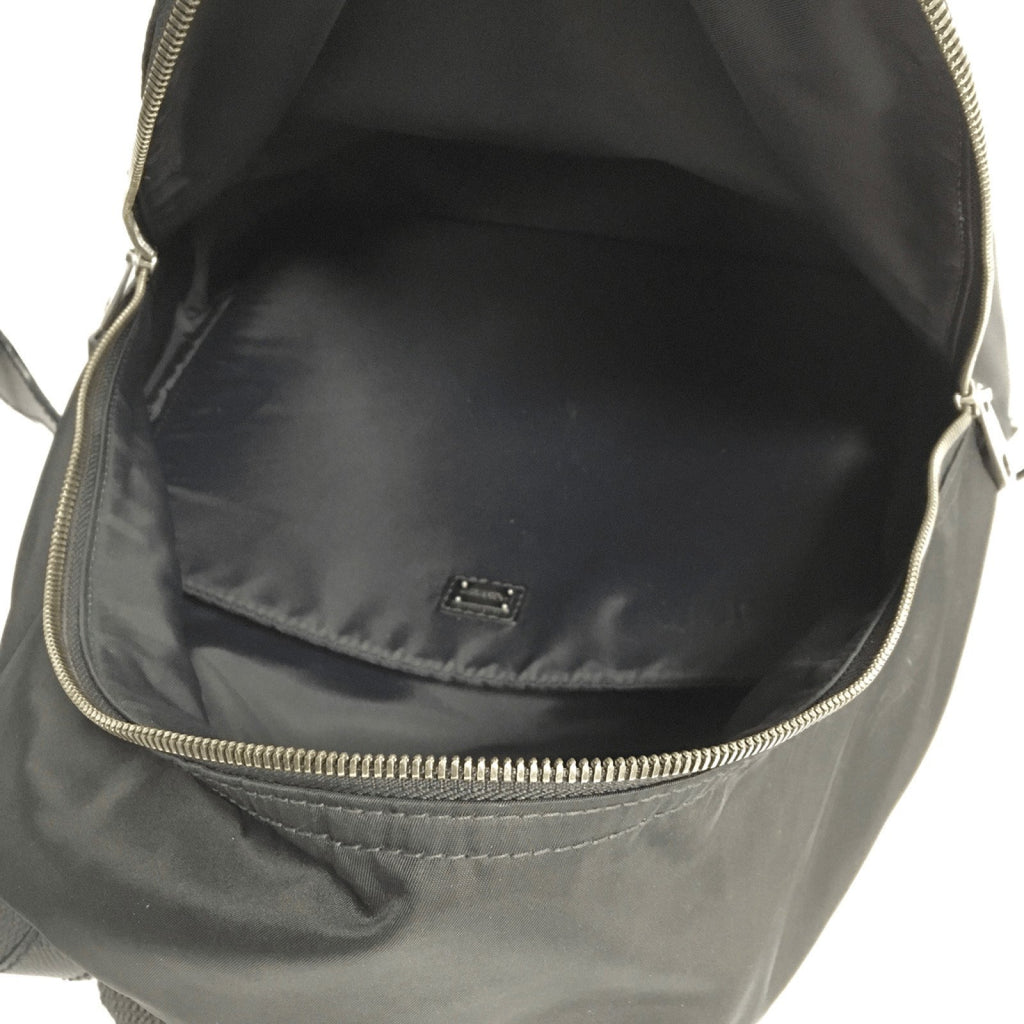Dolce And Gabanna Black Nylon Vulcano Backpack - Bags