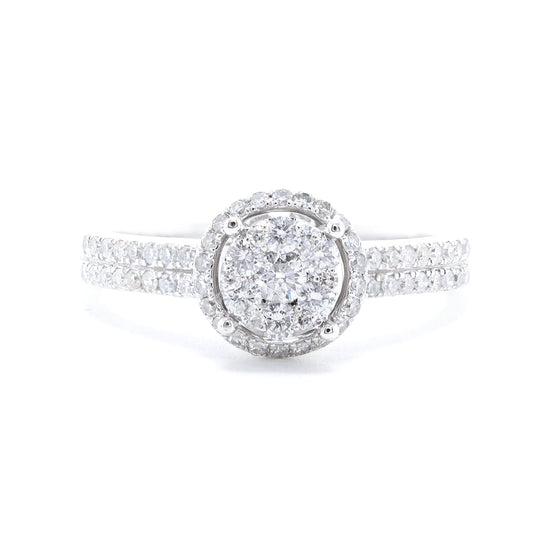 Effy Diamond Cluster Engagement Ring Rings EFFY