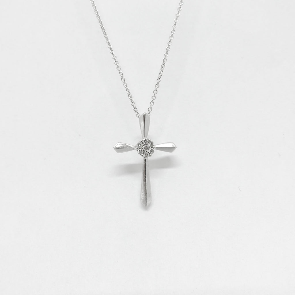 EFFY Diamond Cross Pendant Necklace Necklaces EFFY