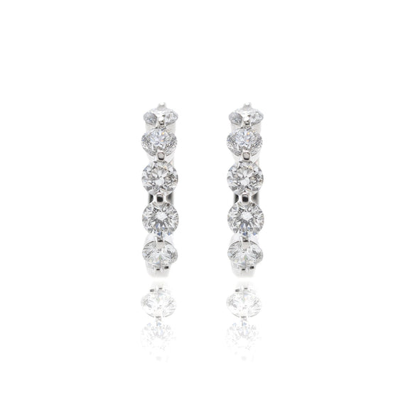 Effy Diamond Huggie Earrings Earrings EFFY