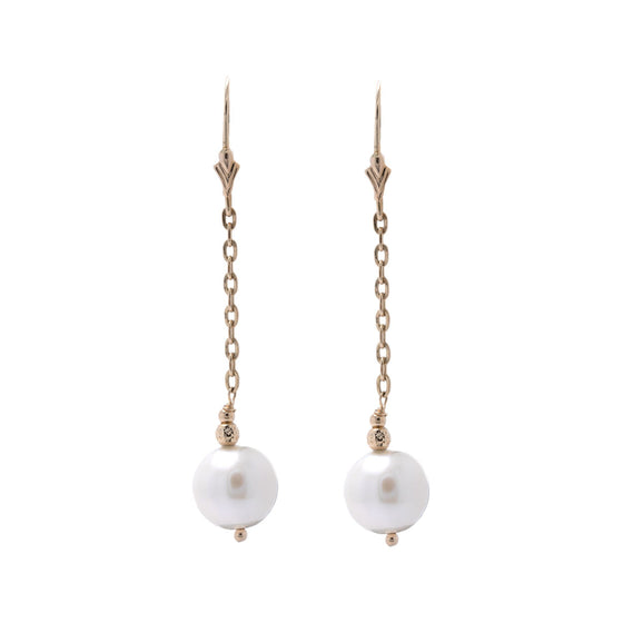Effy Pearl Drop Earrings Earrings EFFY