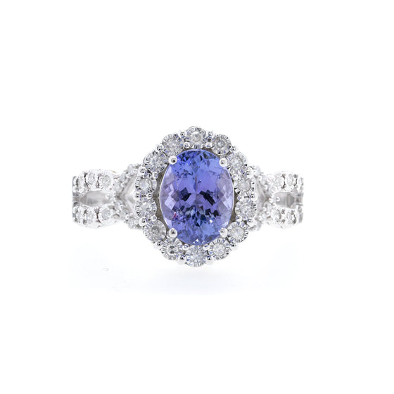 EFFY Tanzanite & Diamond Cocktail Ring Rings EFFY