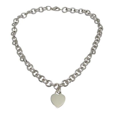Tiffany & Co. Heart Tag Necklace - Necklaces