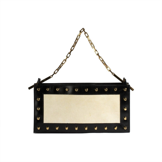Fendi Vintage Studded Shoulder Bag Bags Fendi
