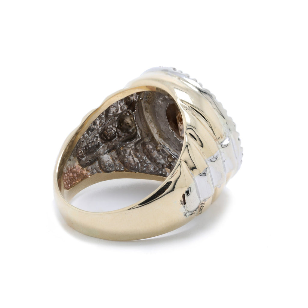 Gent's Brown Diamond Ring Men's Jewellery Miscellaneous