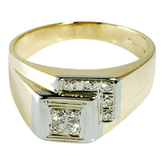 Gent's Diamond Ring Men's Jewellery Miscellaneous