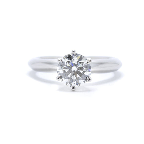 GIA Certified Solitaire Diamond Engagement Ring Rings Miscellaneous