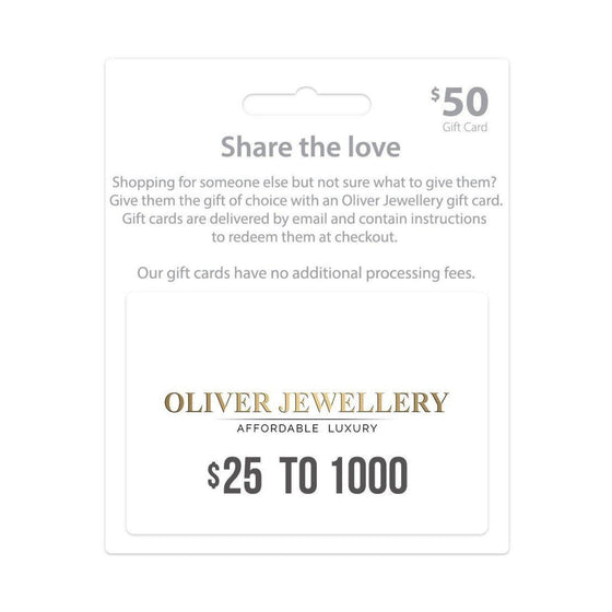Gift Card Gift Card Oliver Jewellery