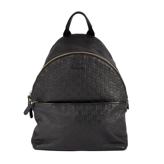 6543af91d Gucci Black Guccissima Leather Backpack Bags Gucci