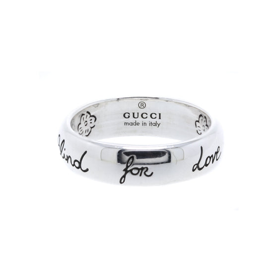 "Gucci ""Blind for Love"" Ring Rings Gucci"