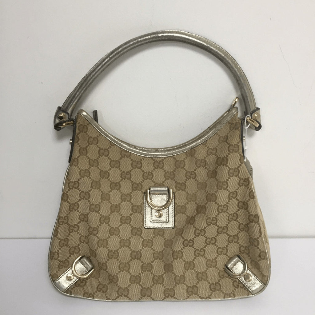 Gucci Canvas Abbey Hobo - Bags