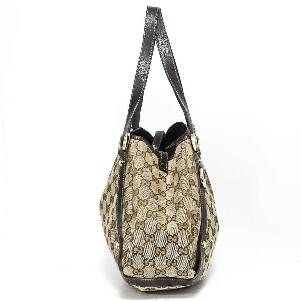 Gucci Gg Canvas Medium Abbey Bag - Bags