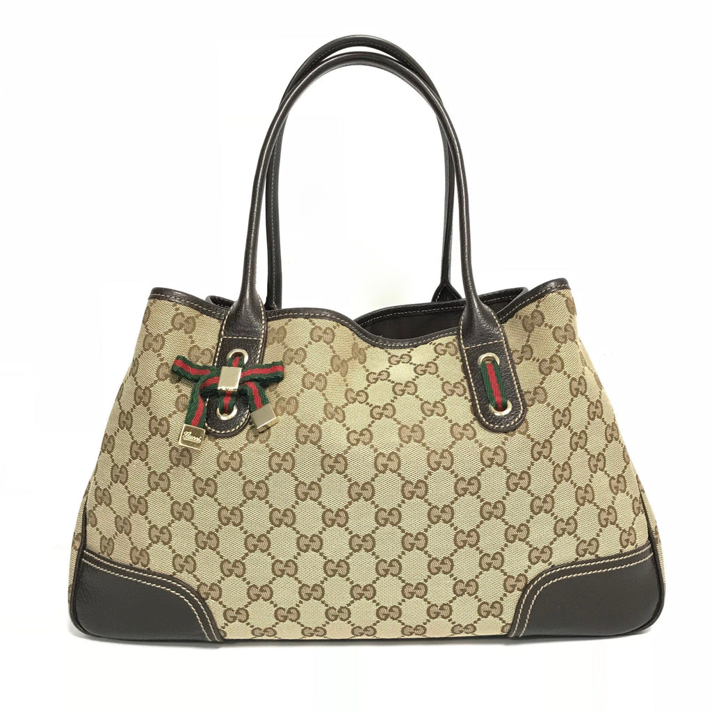 Gucci Gg Canvas Princy Tote - Bags