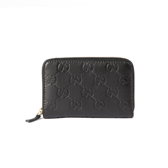 Gucci Guccissima Signature Card Case Wallets Gucci