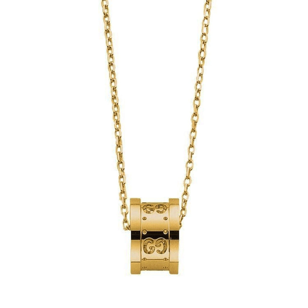 Gucci Icon Twirl Pendant Necklace Necklaces Gucci
