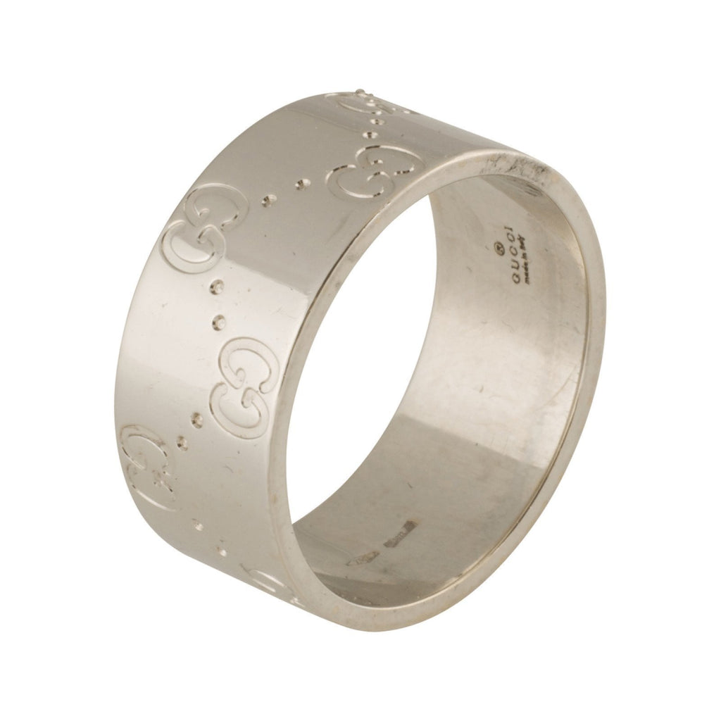 Gucci Icon Wide Band Rings Gucci