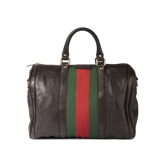 Gucci Medium Web Original Boston Bag Bags Gucci
