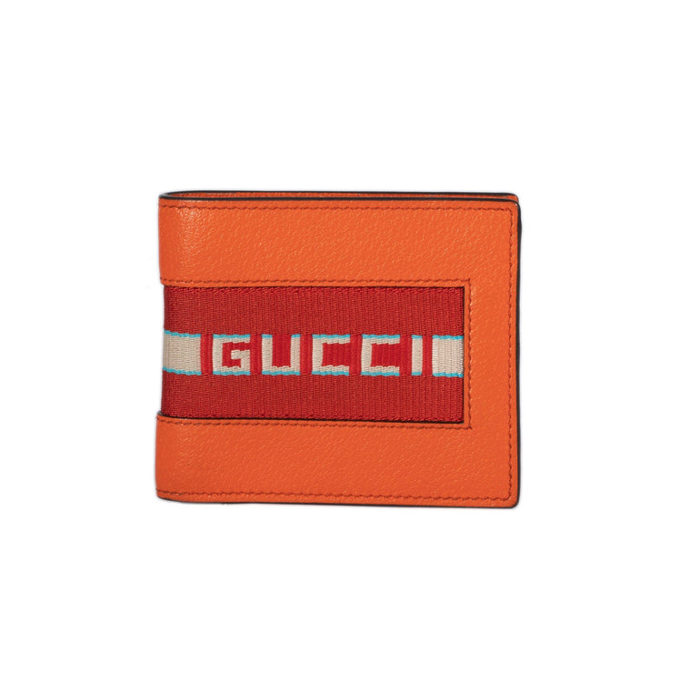 Gucci Men's Stripe Leather Wallet Wallets Gucci