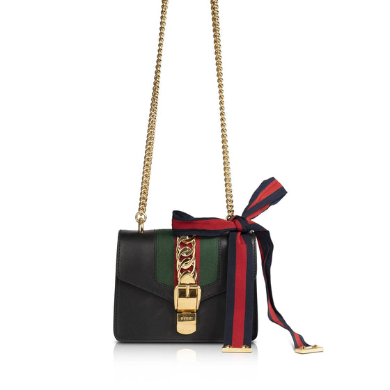 Gucci Mini Sylvie Chain Bag Bags Gucci