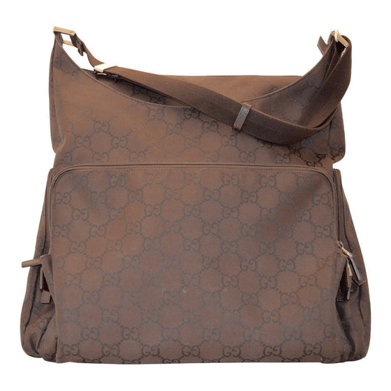 Gucci Monogram Nylon Utility Diaper Bag Bags Gucci