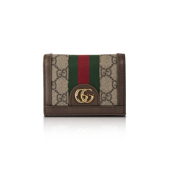 Gucci Ophidia GG Card Case Wallet Wallets Gucci