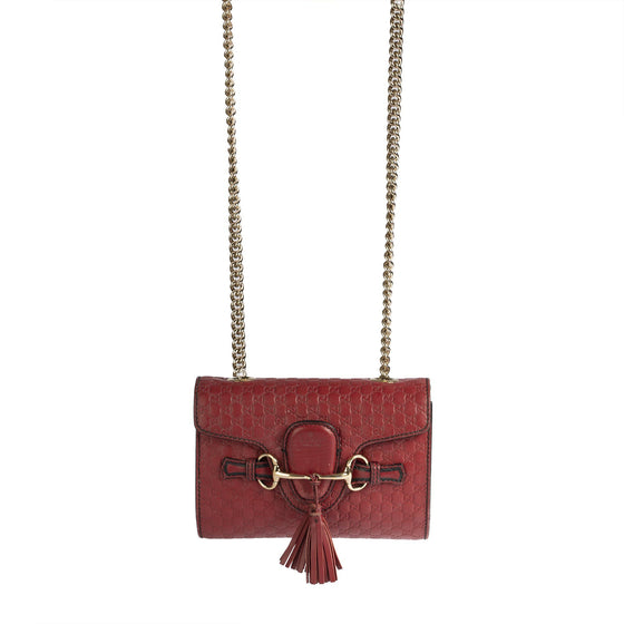 Gucci Signature Mini Emily Crossbody Bag Bags Gucci