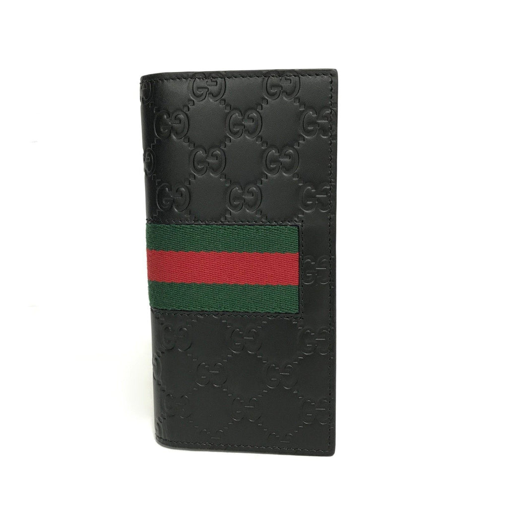 Gucci Signature Web Long Wallet - Wallets