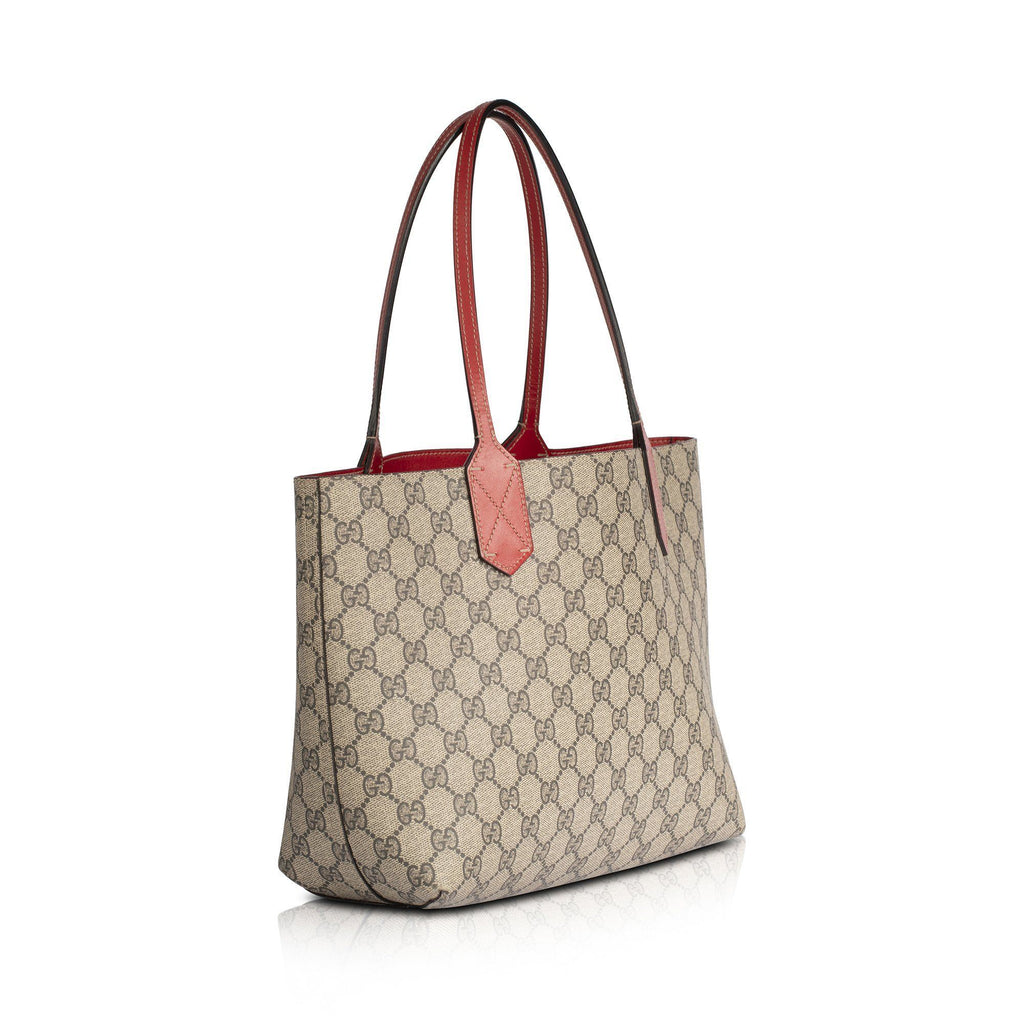 Gucci Small GG Supreme Reversible Tote Bags Gucci
