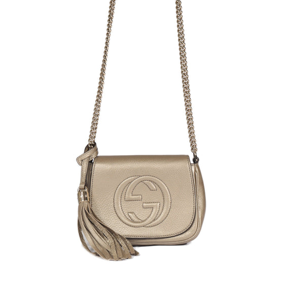 Gucci Soho Chain Crossbody Bag Bags Gucci