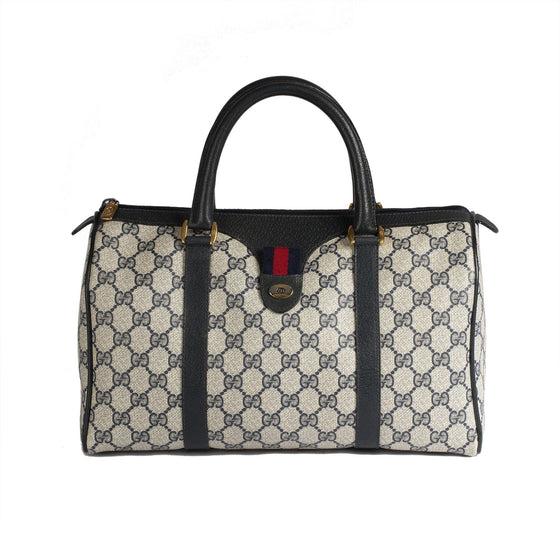 Gucci Vintage GG Plus Boston Bag Bags Gucci
