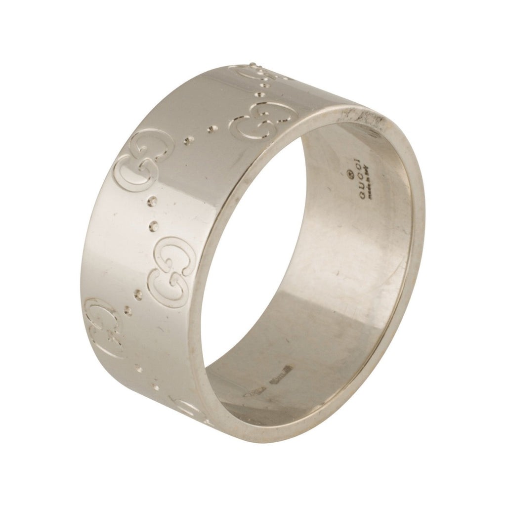 Gucci Wide Icon Band Ring Rings Gucci