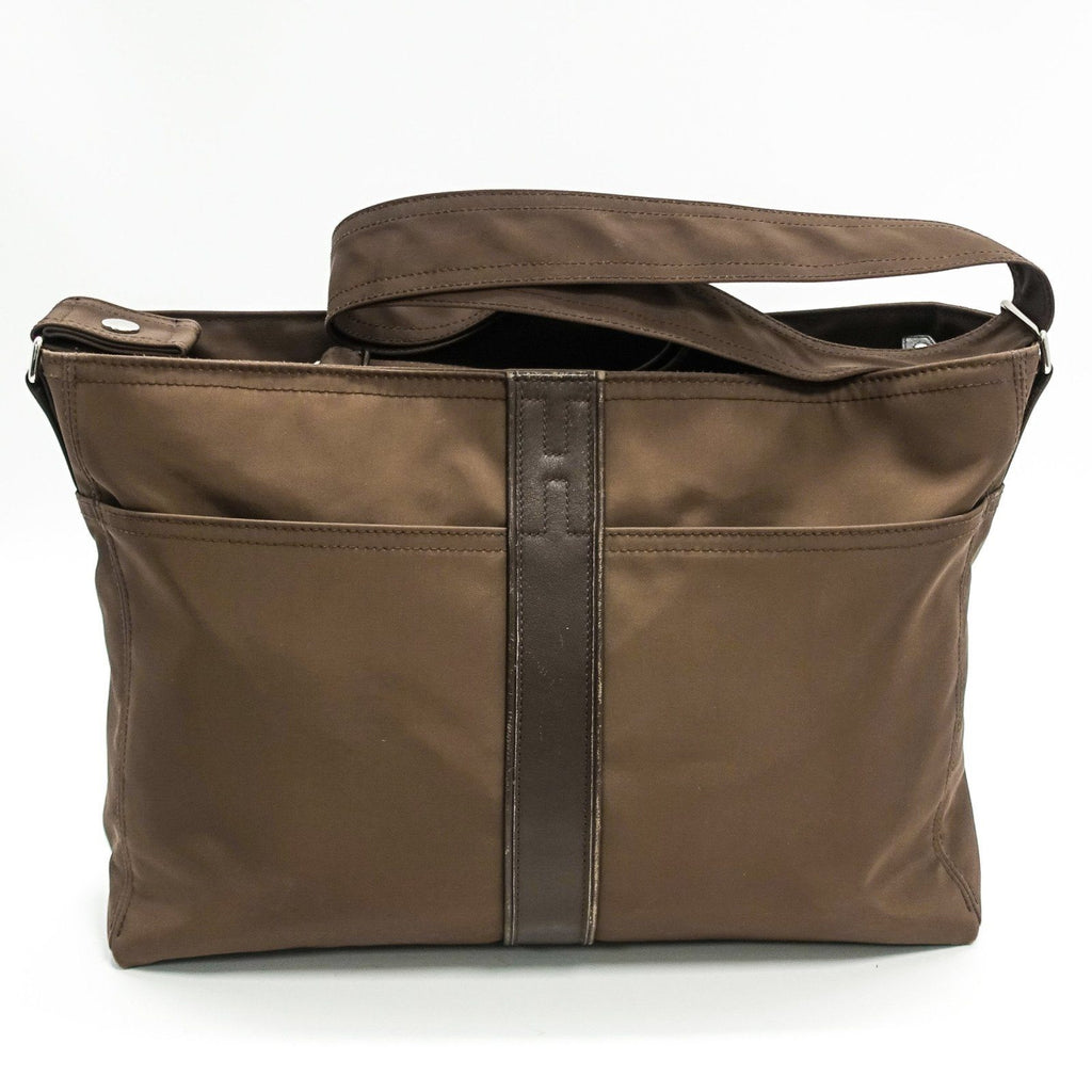Hermes Brown Acapulco Bassas Mens Bag - Bags