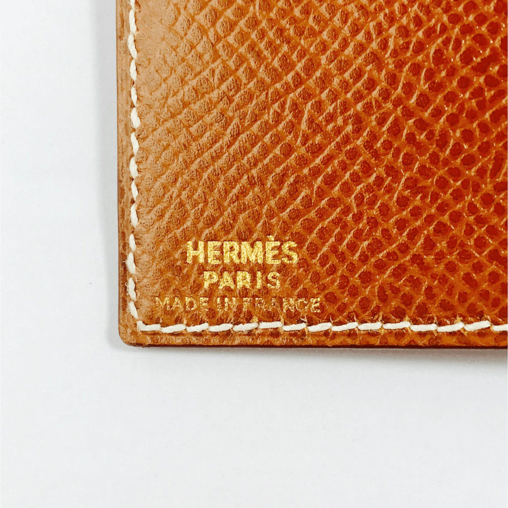 Hermes Brown Photo Wallet Wallets Hermes