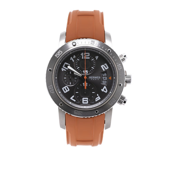 Hermes Clipper Chrono Maxi 44 Watch Watches Hermes