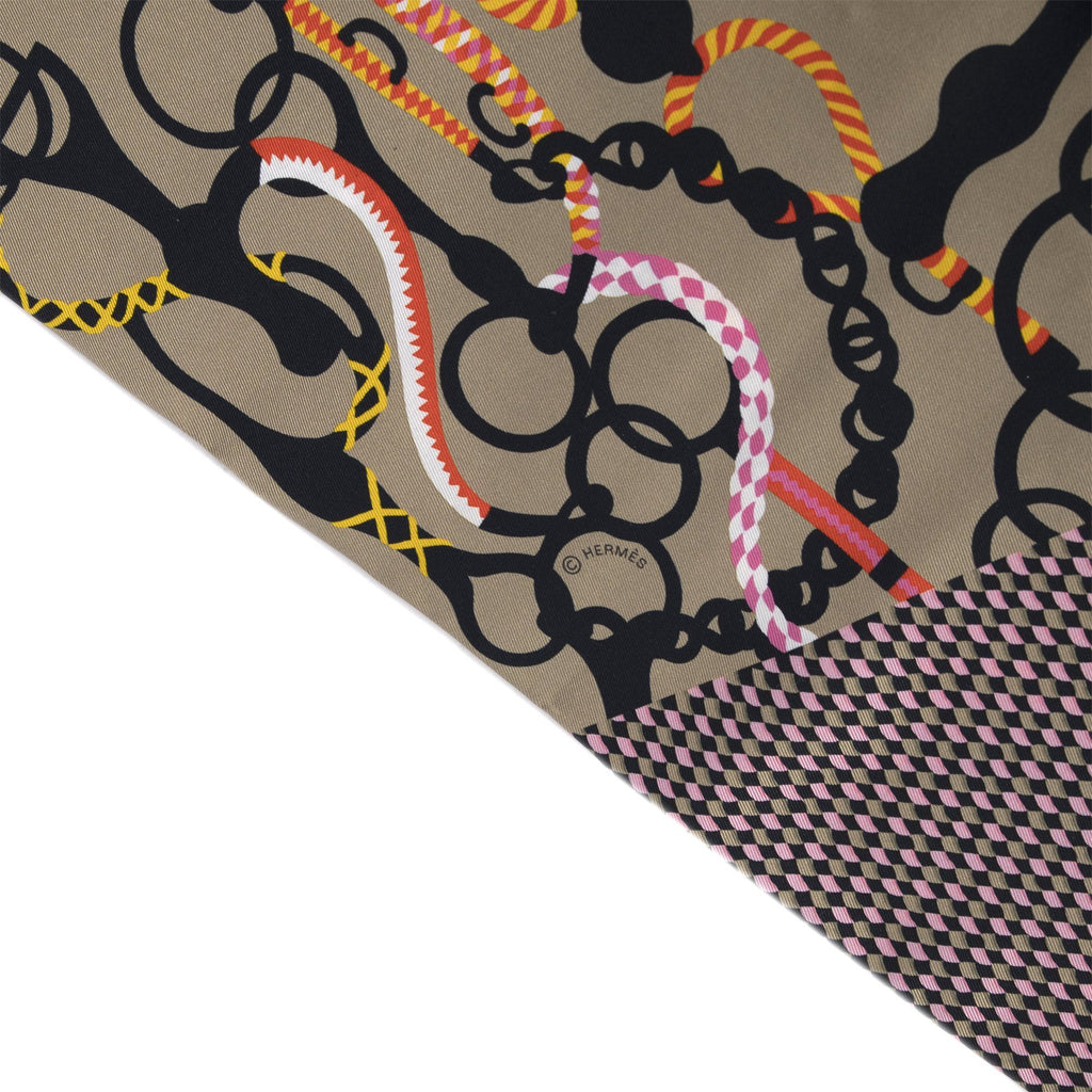Hermes Equateur Maxi-Twilly Cut Scarf Accessories Hermes