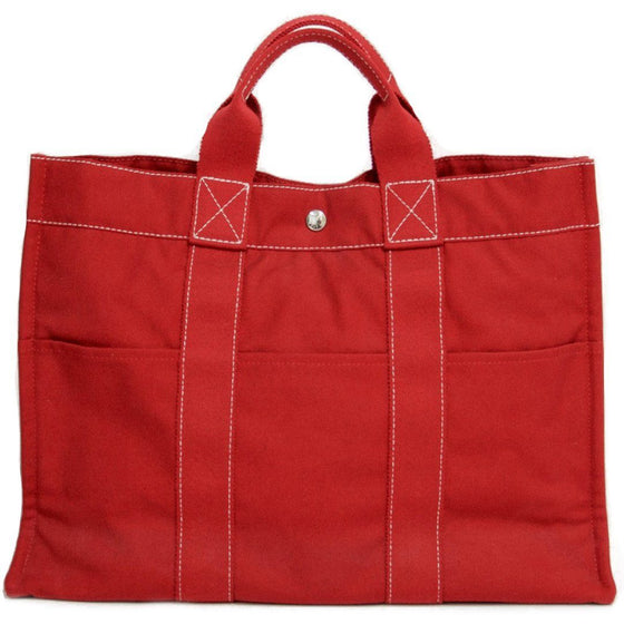 Hermes Red Beach Bag Bags Hermes