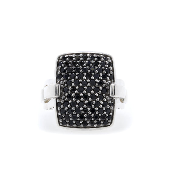 John Hardy Black Sapphire Lava Cocktail Ring Rings John Hardy