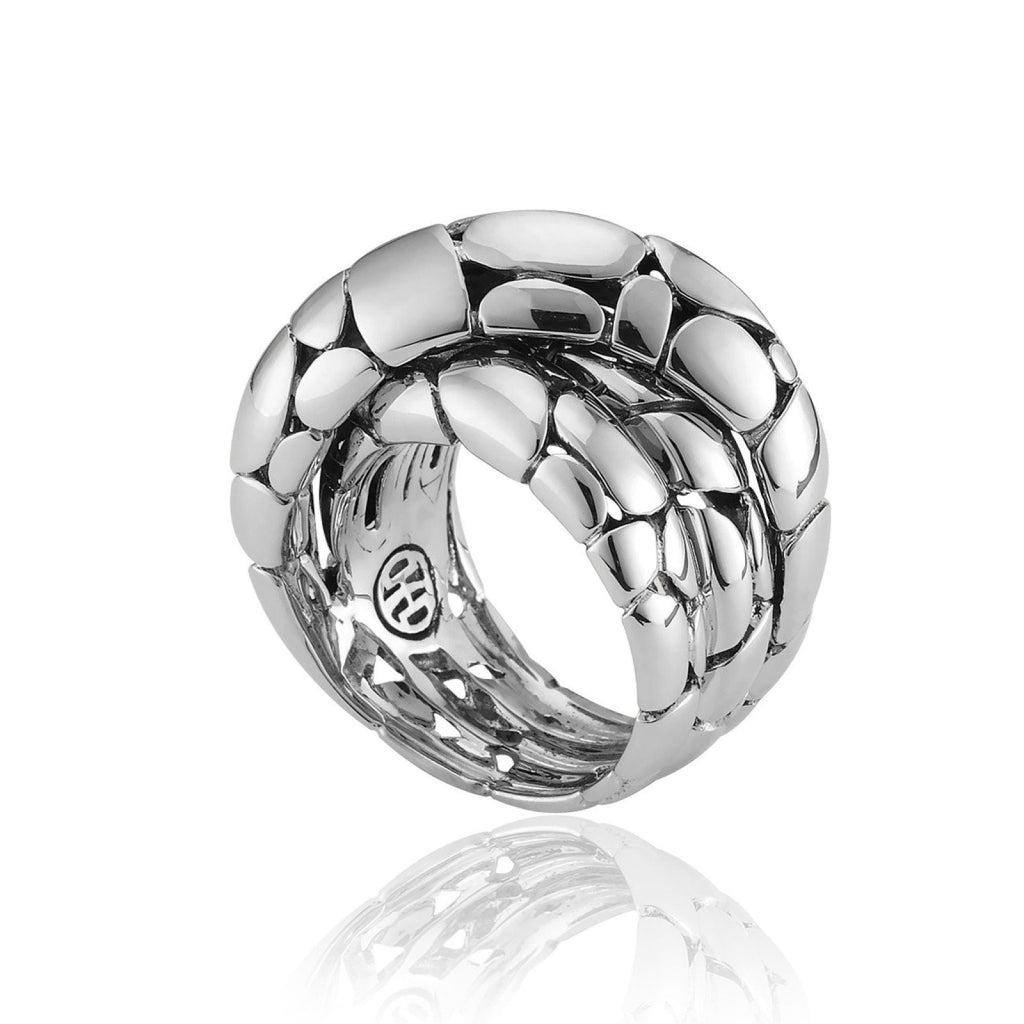 John Hardy Kali Twist Ring in Sterling Silver Rings John Hardy