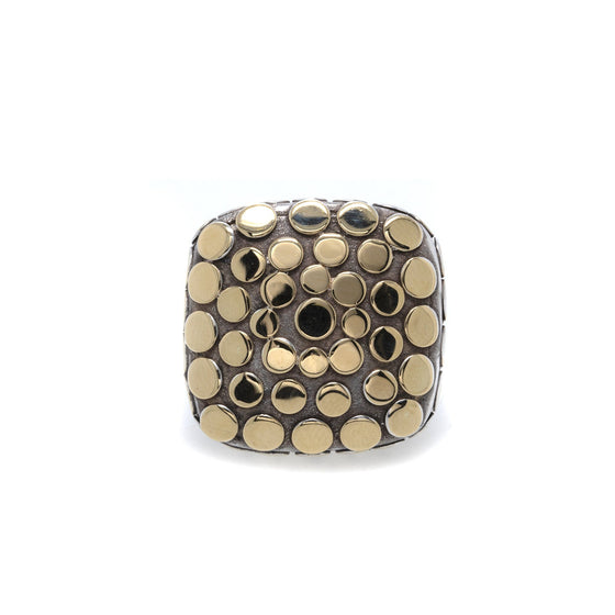 John Hardy Two-Tone Dot Cocktail Ring Rings John Hardy