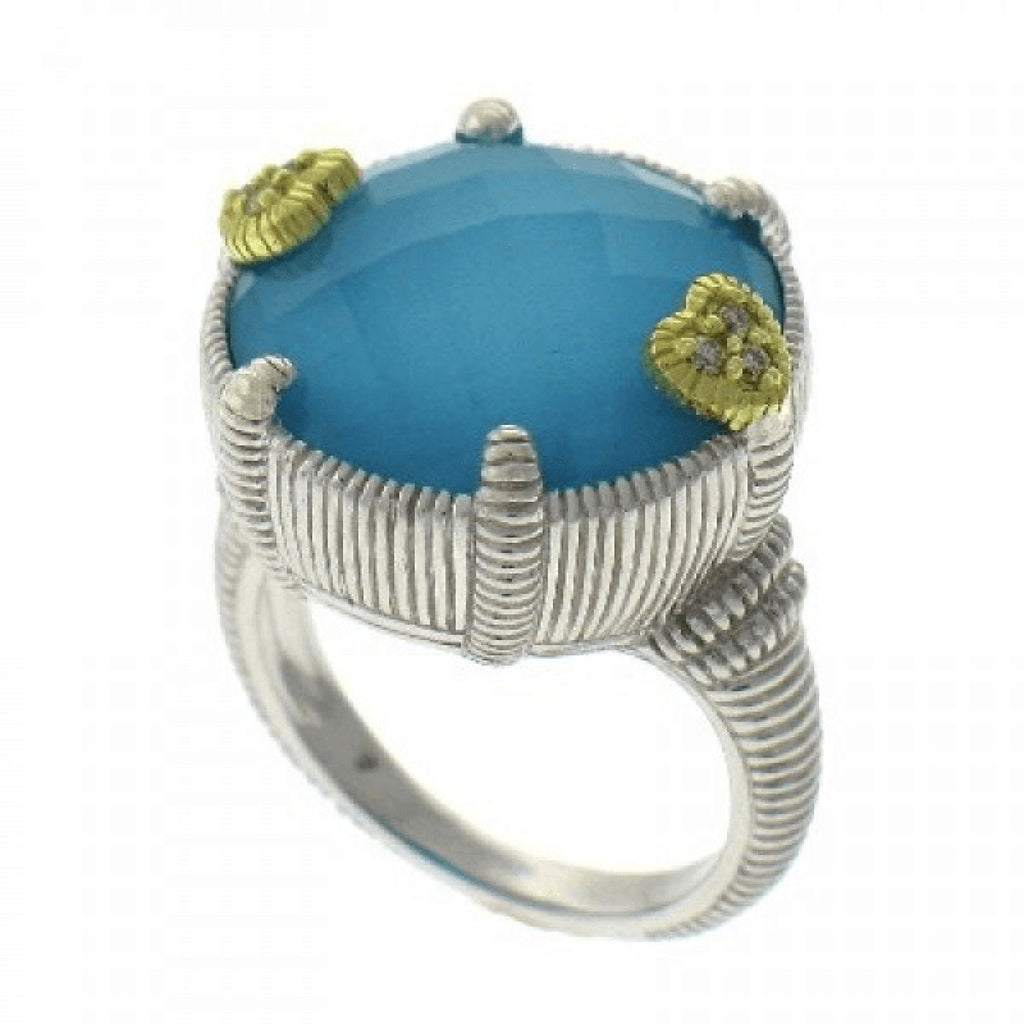 Judith Ripka Eclipse Turquoise Ring - Rings