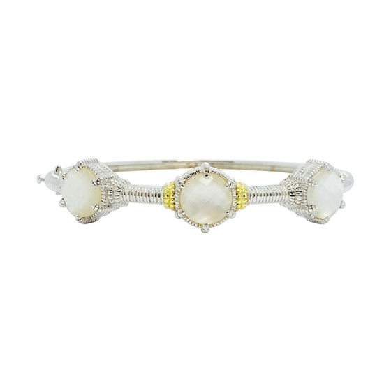 Judith Ripka Mother-of-Pearl Eclipse Bangle Bracelet Bracelets Judith Ripka
