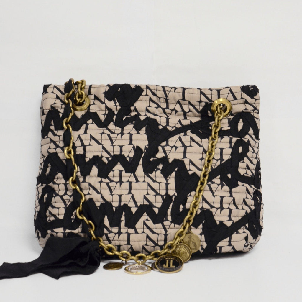 Lanvin Graffiti Grosgrain Happy 10th Anniversary Bag Bags Lanvin