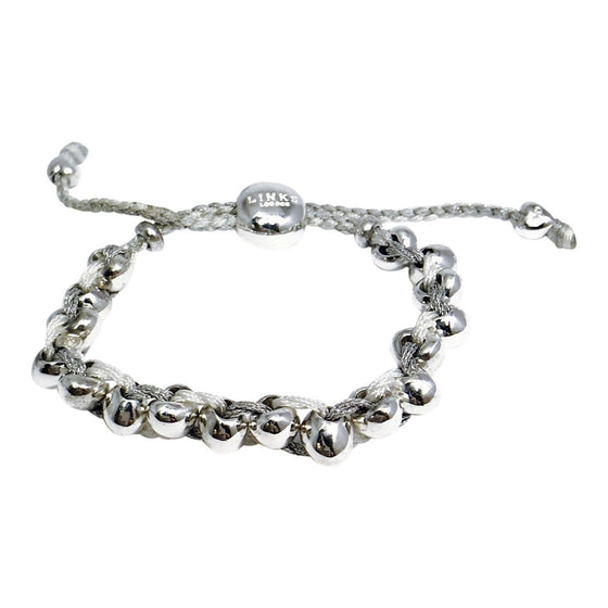 Links Of London Cord Bracelet in Sterling Silver Bracelets Links of London