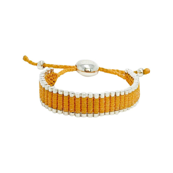 Links of London Orange Cord Friendship Bracelet Bracelets Links of London