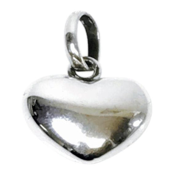Links of London Puffed Heart Charm in Sterling Silver Charms & Pendants Links of London