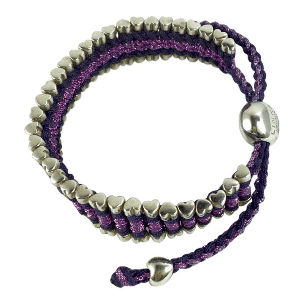 Links of London Purple Friendship Bracelet Bracelets Links of London