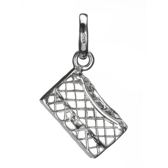 Links of London Quilted Clutch Bag Charm Charms & Pendants Links of London